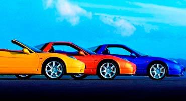 Изменения цвета транспортного средства