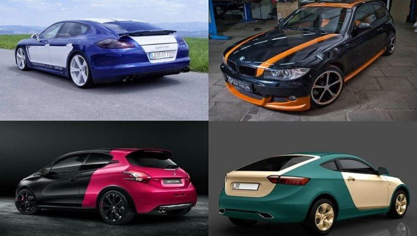 Как в ПТС поменять цвет машины