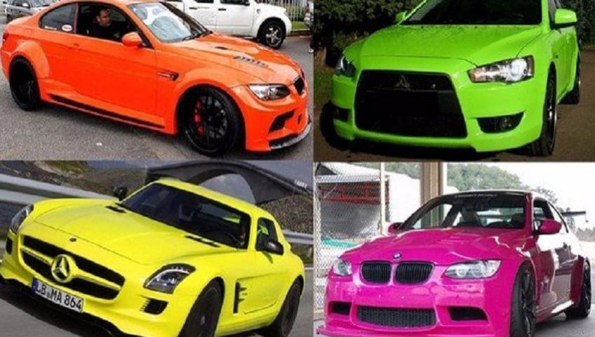 Несоответствие цвета авто – штраф и последствия